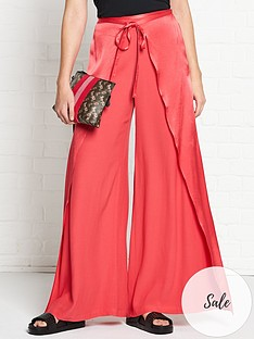 vestire-be-good-to-me-wide-leg-trousers-red