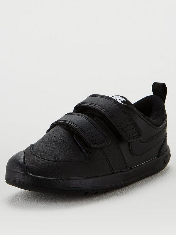 Bombardeo Hacer bien información  Nike Pico 5 Infant Trainers - Black/Black | very.co.uk