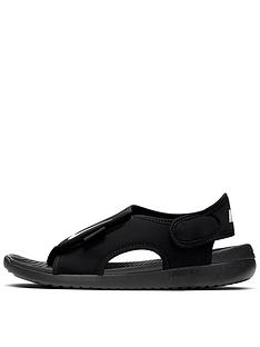 nike-sunray-adjust-5-childrens-sandal-black-white