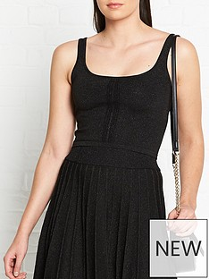 vestire-just-a-little-crush-lurex-tank-top-black
