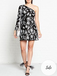talulah-lightning-sequin-one-shoulder-dress-black