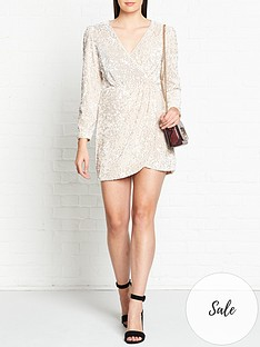 talulah-for-now-sequin-mini-dress-silver