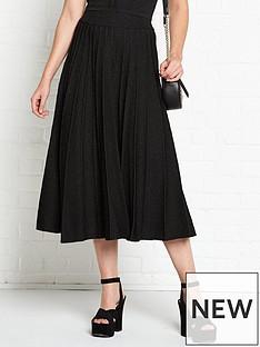 vestire-just-a-little-crush-lurex-midi-skirt-black