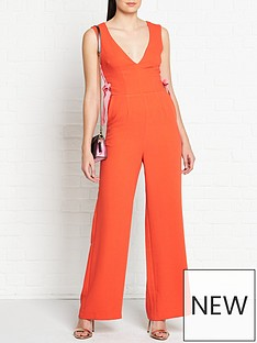 vestire-dancing-in-flames-lacing-detail-jumpsuit-redpink