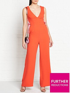 vestire-dancing-in-flames-lacing-detail-jumpsuit-redpink