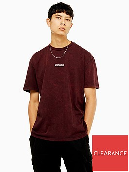 topman-stockholm-logo-t-shirt