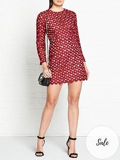 talulah-lady-of-lucury-daisy-crochet-long-sleeve-dress-bordeaux