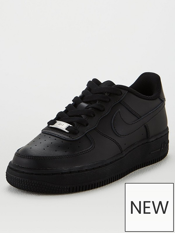 Air Force 1 Junior Trainers Black