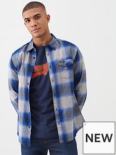 wrangler-wrangler-pocket-flap-herringbone-check-shirt
