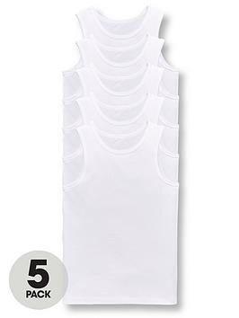 v-by-very-boys-5-packnbspsleeveless-school-vests-white
