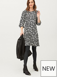 v-by-very-volume-sleeve-jersey-mini-dress-print