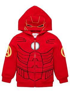 the-avengers-zip-through-hoodie-red