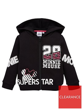 minnie-mouse-girls-superstar-hoodie-black