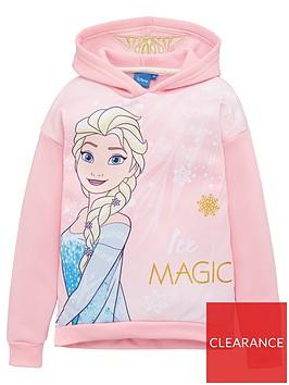 disney-frozen-girls-longline-hoodie-pink