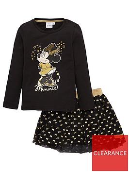minnie-mouse-t-shirt-amp-skirt-set-black