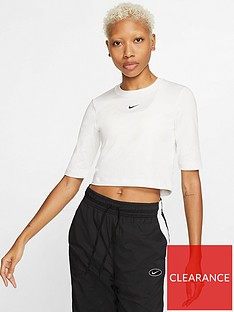 nike-nsw-essential-3-quarter-sleeve-top-whitenbsp