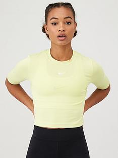 nike-nsw-essential-3-quarter-sleeve-top-limelightnbsp