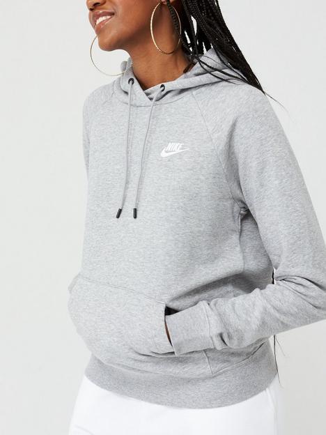 nike-nsw-essential-pullover-hoodie-dark-grey-heather