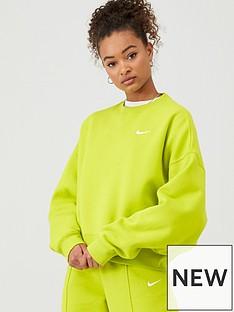 nike-nsw-trend-sweat-top-bright-cactusnbsp
