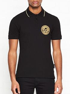 versace-jeans-couture-logo-tipped-polo-shirt-black