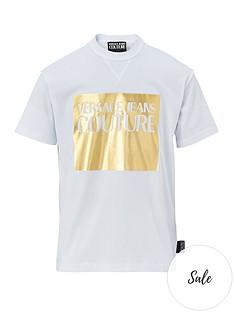 versace-jeans-couture-menrsquosnbsplarge-foil-logo-t-shirt-white