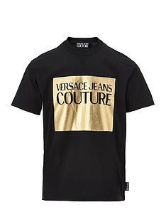 versace-jeans-couture-menrsquosnbsplarge-foil-logo-t-shirt-ndash-black