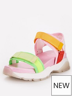 v-by-very-girls-chunky-tracker-sandals-multi
