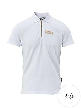 versace-jeans-couture-menrsquosnbspchest-logo-zip-polo-shirt-ndash-white