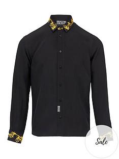 versace-jeans-couture-menrsquosnbspbaroque-collar-and-cuff-shirt-black