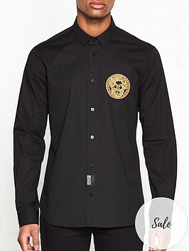 versace-jeans-couture-large-embroidered-logo-shirt-black