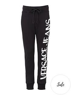 versace-jeans-couture-menrsquosnbsplogo-print-joggers-black