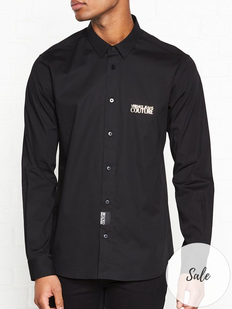 versace-jeans-couture-chest-logo-slim-fit-shirt-black