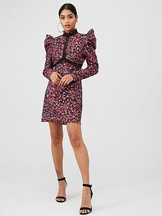 little-mistress-printed-shift-dress-multi