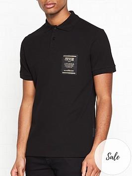 versace-jeans-couture-warranty-label-polo-shirt-black