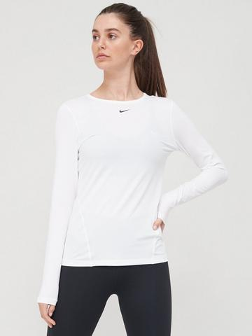 Vientre taiko Tendencia Rítmico  Long Sleeve | Tops & t-shirts | Women | Nike | www.very.co.uk