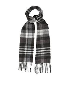 burton-menswear-london-check-scarf-grey