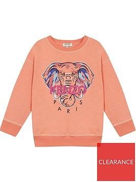 kenzo-girls-elephant-crew-neck-sweatshirt-peachnbsp