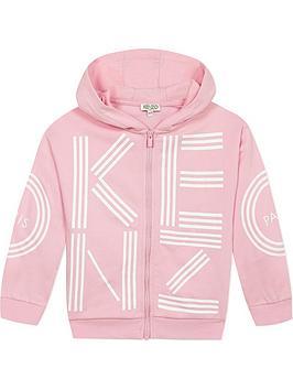 kenzo-girls-logo-zip-through-hoodienbsp--pink
