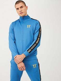 11-degrees-asymmetric-logo-tracksuit-top-blue