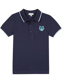 kenzo-boys-basic-tiger-short-sleeve-polo-t-shirt-navy