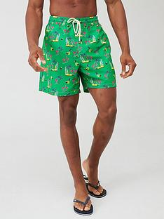 polo-ralph-lauren-flamingo-print-swim-shorts-green