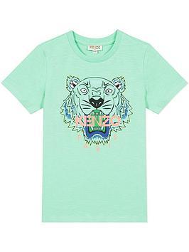 kenzo-boys-tiger-short-sleeve-t-shirt-green