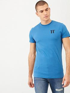 11-degrees-core-muscle-fit-t-shirt-blue