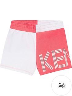 kenzo-girls-logo-half-and-half-jersey-shorts-pinkwhite
