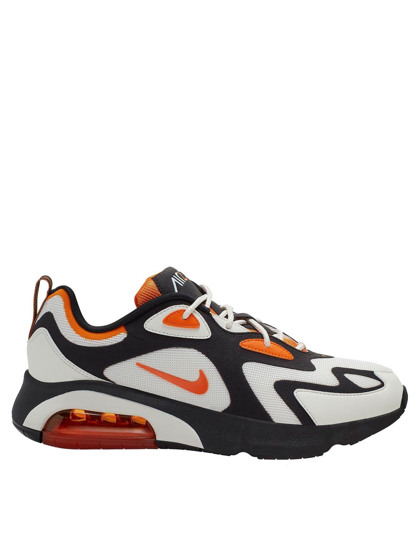 orange and black air max