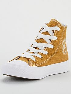 converse-childrens-renew-cotton-chuck-taylor-all-star-high-top--brownwhite