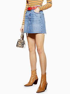 topshop-denim-mini-skirt-blue