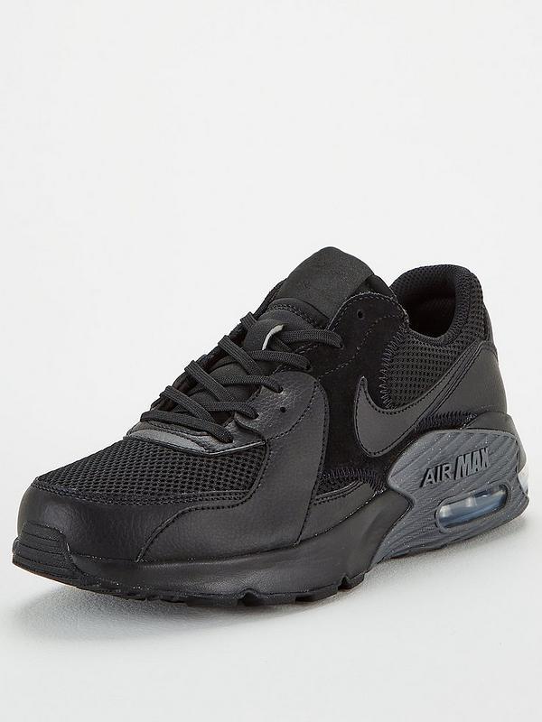 Jabón maníaco sistema  Nike Air Max Excee - Black | very.co.uk