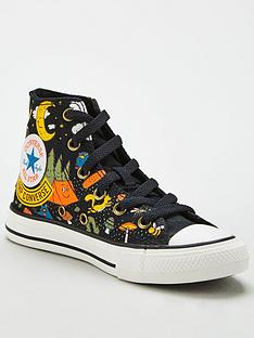 converse-childrens-chuck-taylor-all-star-hi-camp-conversenbsptrainers-black-multi