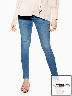 topshop-maternity-jamie-jeans-blue